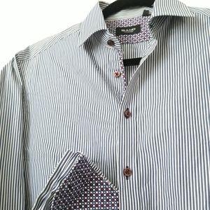 SAND Copenhagen L/S Flip Cuff Slim Fit Shirt